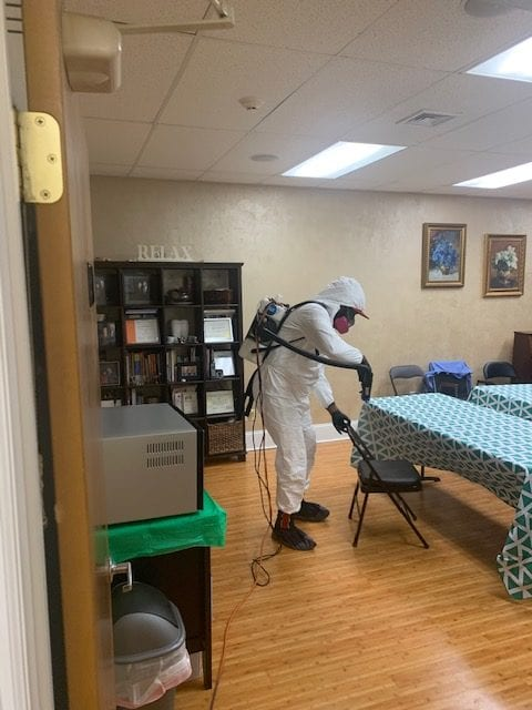 Electrostatic Disinfection Service Hackensack New Jersey