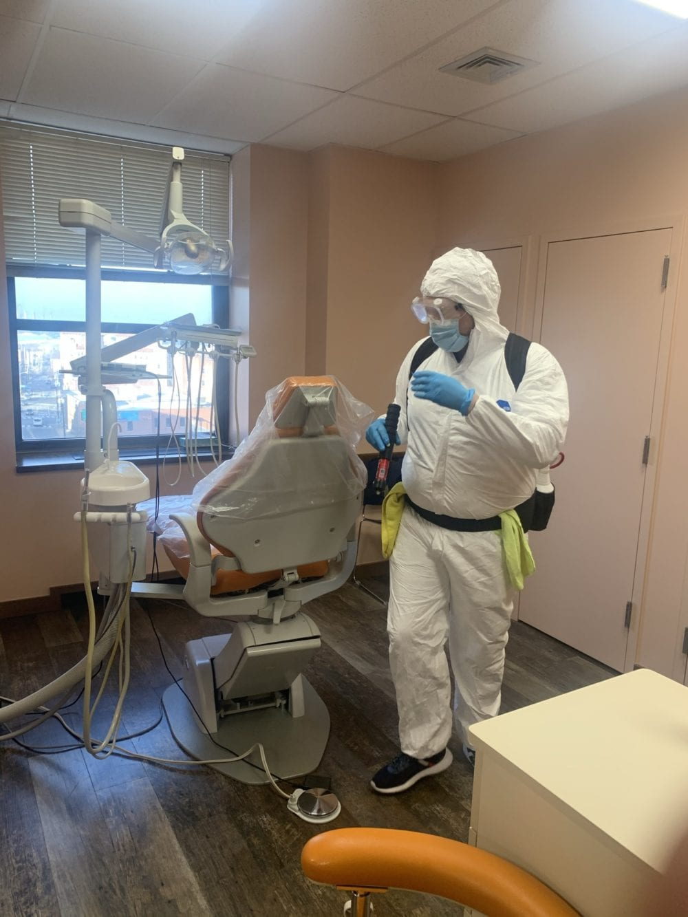 Electrostatic Disinfection Service Jersey City New Jersey
